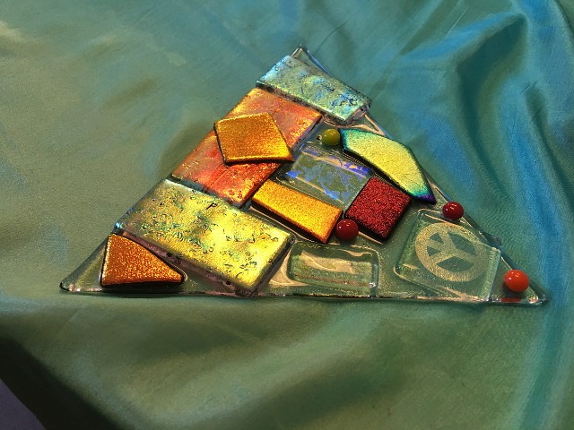 Fusing Glass Triangle
