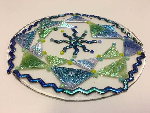 2018 Winter Healing Glass Mandala Workshop