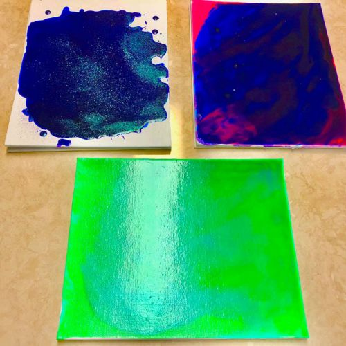 Paint Pouring To Help Relieve Anxiety And Depression